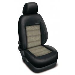 Autopotahy na Škoda Fabia III. kombi, dělené zadní sedadlo i opěradlo, Authentic Doblo Matrix