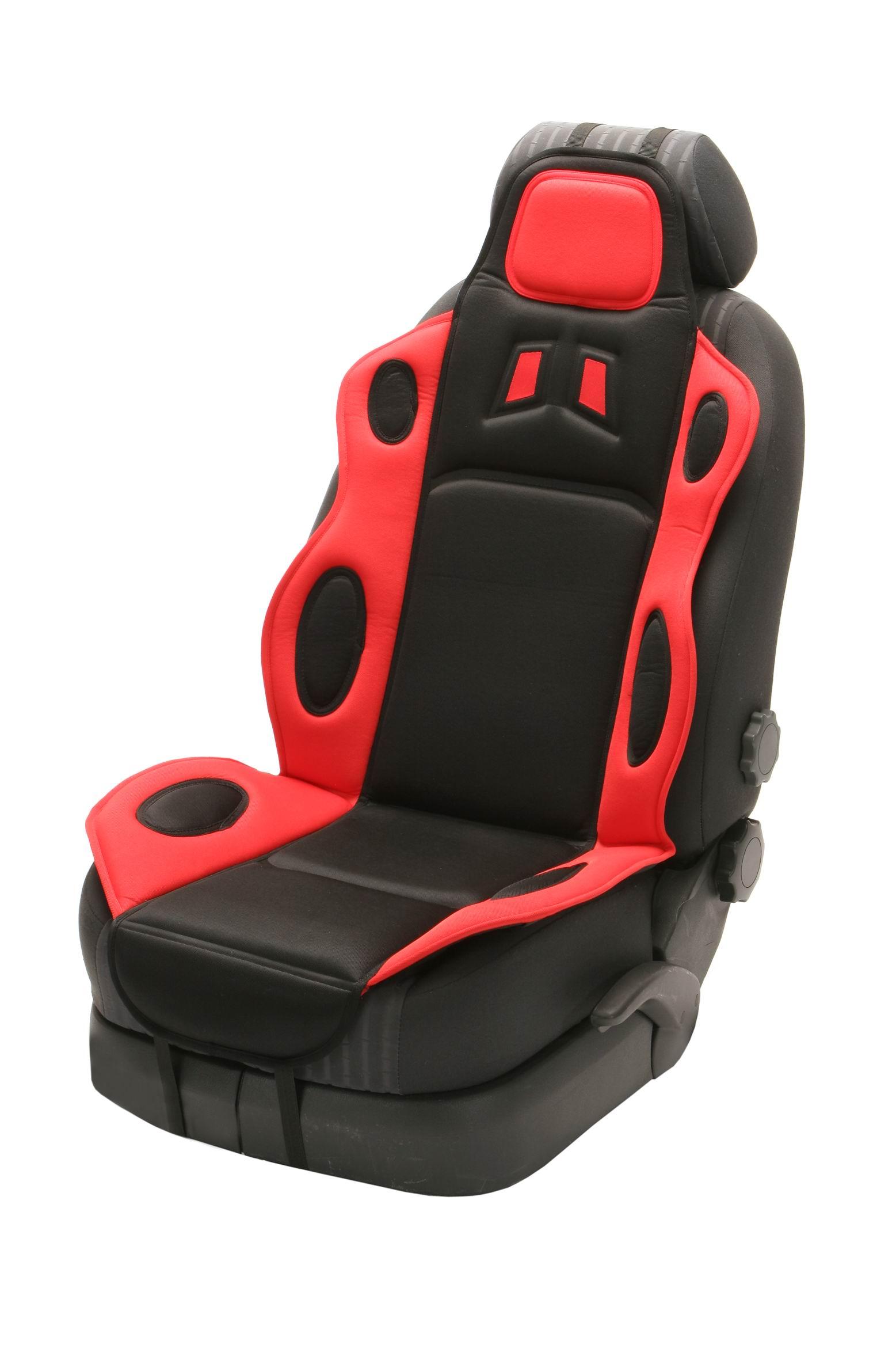 Sport Cushion, barva červená - univerzál na jedno sedadlo